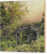 Mystical Arbor Wood Print