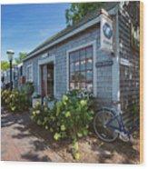 Nantucket Dock Wood Print