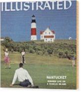 Nantucket Island Golf Sports Illustrated Cover Wood Print