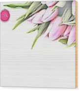 Naturalness And Flowers 42 Wood Print