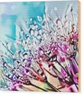 Naturalness And Flowers 45 Wood Print