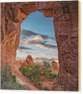 Nature's Picture Frame Wood Print
