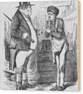 Naval Reform, 1859 Wood Print