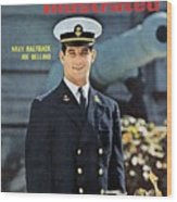 Navy Joe Bellino Sports Illustrated Cover Wood Print