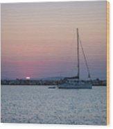 Naxos Island Wood Print