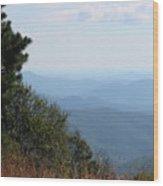 Nc Blue Ridge Parkway 9 Wood Print