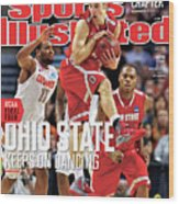 Ncaa Basketball Tournament - Regionals - Boston Sports Illustrated Cover Wood Print