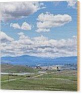 Near Princeton British Columbia Wood Print