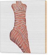 Neolithic Venus Mother Goddess Wood Print