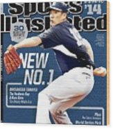 New No. 1 2014 Mlb Baseball Preview Issue Sports Illustrated Cover Wood Print
