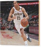 New Orleans Pelicans V Atlanta Hawks Wood Print