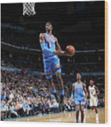 New Orleans Pelicans V Oklahoma City Wood Print