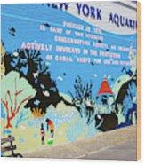 New York Aquarium, Coney Island, Brooklyn, New York Wood Print
