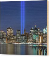 New York City 9/11 Commemoration  Wood Print