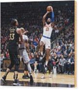 New York Knicks V Toronto Raptors Wood Print