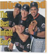 New York Mets The Best Infield Ever Sports Illustrated Cover Wood Print