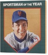 New York Mets Tom Seaver Sports Illustrated Cover Wood Print