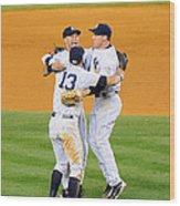 New York Yankees Alex Rodriguez, Derek Wood Print