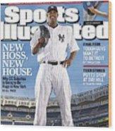New York Yankees Cc Sabathia Sports Illustrated Cover Wood Print