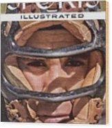 New York Yankees Yogi Berra Sports Illustrated Cover Wood Print