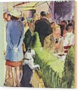 New Yorker August 17th 1946 Wood Print