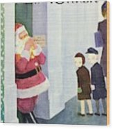New Yorker December 14th 1946 Wood Print
