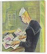 New Yorker February 14th 1942 Wood Print