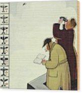 New Yorker June 13th 1942 Wood Print