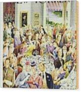New Yorker June 28th 1947 Wood Print
