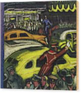 New Yorker November 20th 1943 Wood Print