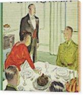 New Yorker November 27th 1943 Wood Print