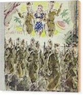 New Yorker November 7th 1942 Wood Print