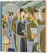 New Yorker September 18th 1943 Wood Print