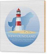 Newfoundland Pride Wood Print