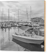 Newport Rhode Island Harbor Wood Print