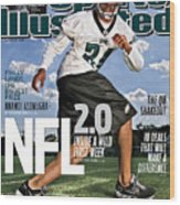 Nfl 2.0 Inside A Wild First Week Sports Illustrated Cover Wood Print