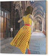 Nicolasa's Dance Wood Print