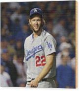 Nlcs - Los Angeles Dodgers V Chicago Wood Print