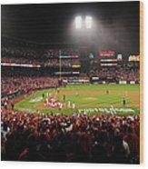 Nlcs - San Francisco Giants V St Louis Wood Print