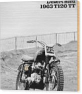 No 502 Mcqueen Desert Sled Wood Print