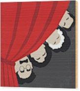 No1053 My A Night At The Opera Minimal Movie Poster Wood Print