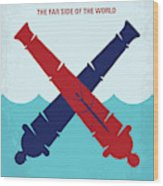 No1060 My Master And Commander Minimal Movie Poster Wood Print