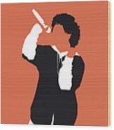 No223 My Bruno Mars Minimal Music Poster Wood Print