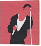 No242 My Depeche Mode Minimal Music Poster Wood Print