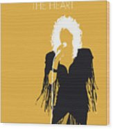 No264 My Bonnie Tyler Minimal Music Poster Wood Print