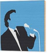 No279 My Julio Iglesias Minimal Music Poster Wood Print