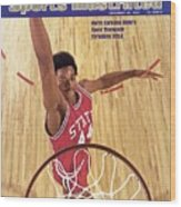 North Carolina State David Thompson Sports Illustrated Cover Wood Print