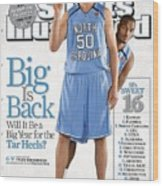 North Carolina Tyler Hansbrough And Reyshawn Terry Sports Illustrated Cover Wood Print