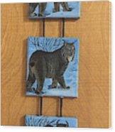 Northern Alberta  Lynx  Wood Print