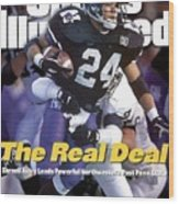 Northwestern University Darnell Autry Sports Illustrated Cover Wood Print